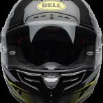 BELL RACESTAR CARBON FLEX DLX 2020 - קסדת בל רייס-סטאר קרבון בטכנולוגיית פלקס שחור צהוב