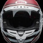 BELL RACESTAR CARBON FLEX DLX 2020 - קסדת בל רייס-סטאר קרבון בטכנולוגיית פלקס אדום/לבן