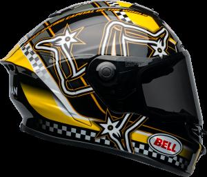 BELL STAR DLX MIPS 2020 - קסדת בל סטאר בטכנולוגיית מיפס צהוב