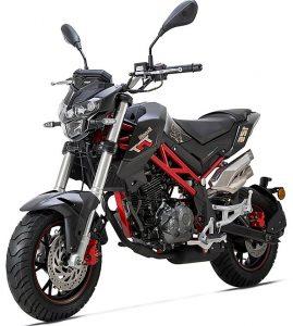 אופנוע Keaaeway אדום שחור שכלולים