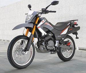אופנוע Keeway אפור