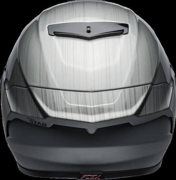 BELL RACESTAR CARBON FLEX DLX 2020 - קסדת בל רייס-סטאר קרבון בטכנולוגיית פלקס שחור בוהק/מט