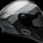 BELL RACESTAR CARBON FLEX DLX 2020 - קסדת בל רייס-סטאר קרבון בטכנולוגיית פלקס אפור מטלי