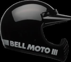 קסדת BELL MOTO 3 שחור בוהק
