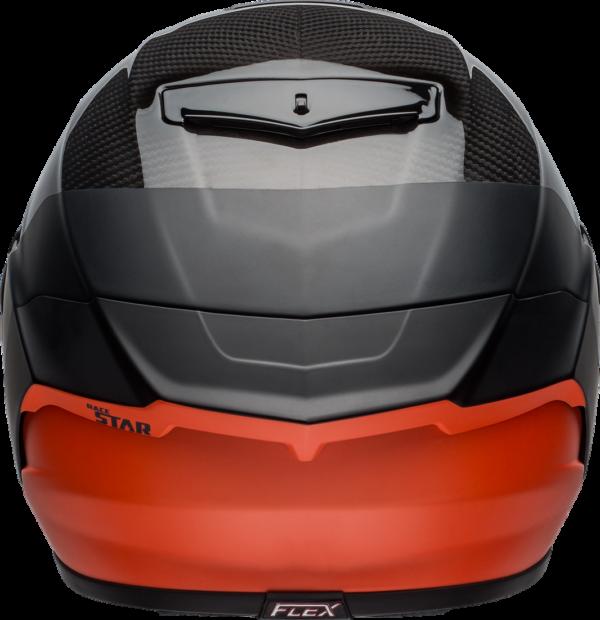 BELL RACESTAR CARBON FLEX DLX 2020 - קסדת בל רייס-סטאר קרבון בטכנולוגיית פלקס שחור/כתום