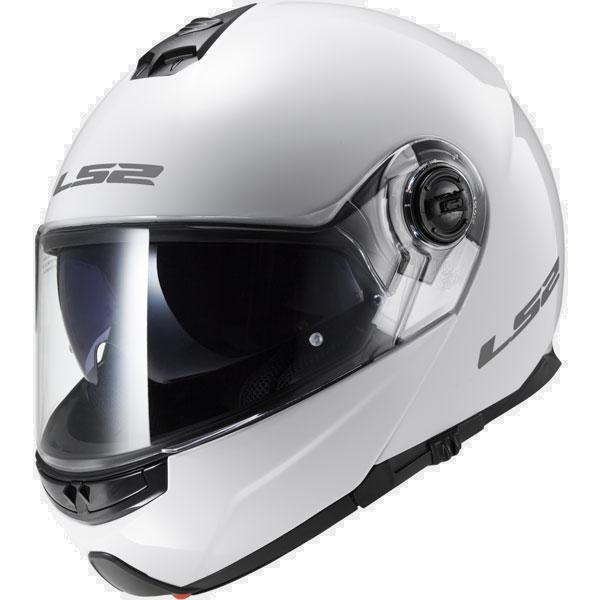 קסדת LS2 - STROBE FF325 לבן