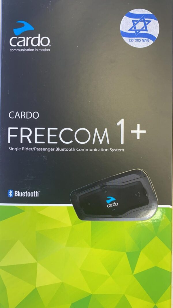 דיבורית לאופנוע Cardo Scala Rider Freecom 1 plus