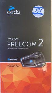 דיבורית לאופנוע Cardo Scala Rider Freecom 2