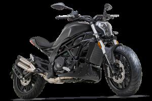 אופנוע שחור