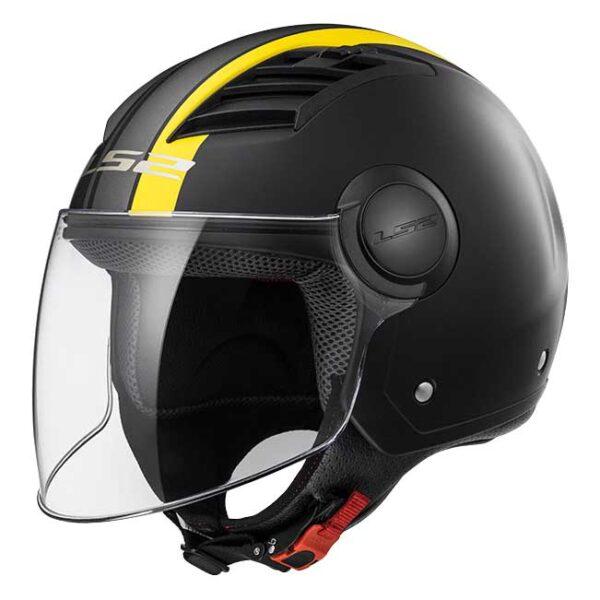 קסדת ls2 airflow צהוב שחור